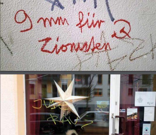 Symbolbild. Foto Screenshot Jahresbericht von RIAS Berlin: Antisemitismus 2018.