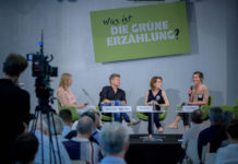 Veranstaltung der Heinrich-Böll-Stiftung 2018. Foto Stephan Röhl / https://www.flickr.com/photos/boellstiftung/48092833728/in/album-72157709156613871 / CC-BY-SA 2.0