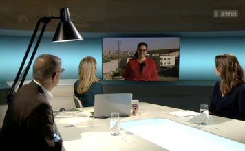 Foto Screenshot SRF Schweizer Radio und Fernsehen.