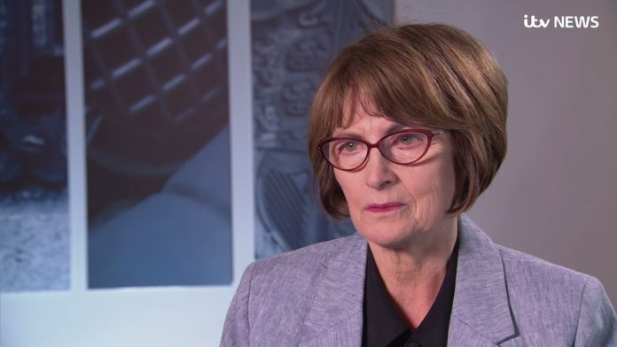 Louise Ellma. Foto Screenshot ITV News / Youtube