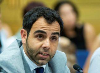 Omar Shakir. Foto Hillel Maeir/TPS