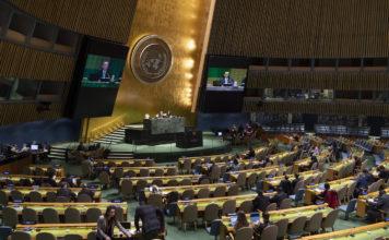 UN-Generalversammlung 25. November 2019. Foto UN Photo/Eskinder Debebe