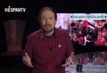 """Der Chef von Podemos moderierte eine Fernsehsendung mit dem Titel: """"Israel will Palästina tot sehen."""" Foto Screenshot Youtube"""