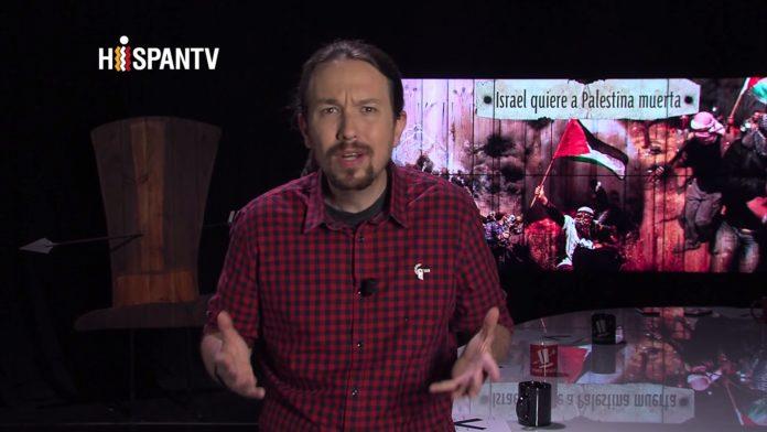 Der Chef von Podemos moderierte eine Fernsehsendung mit dem Titel: