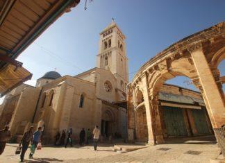 Erlöserkirche in Jerusalem. Foto معتز توفيق اغبارية , CC BY-SA 3.0, https://commons.wikimedia.org/w/index.php?curid=49913753
