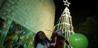 Bethlehem. Foto Majdi Fathi/TPS