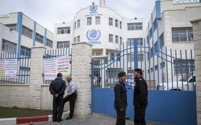 UNRWA Gebäude in Gaza. Foto Abed Rahim Khatib/Flash90