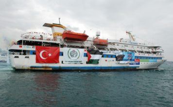 Mavi Marmara. Foto Free Gaza movement - originally posted to Flickr as OntheWay, CC BY-SA 2.0, https://commons.wikimedia.org/w/index.php?curid=10506790