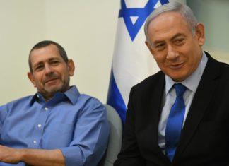 Premierminister Netanjahu und ISA-Direktor Nadav Argaman. Foto Amos Ben-Gershom/GPO