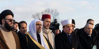 Die Delegation in Auschwitz. Foto Islamische Weltliga / themwl.org