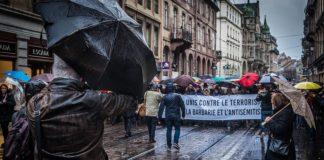 Marsch für Mireille Knoll in Strassburg am 28. März 2018. Foto Claude Truong-Ngoc / Wikimedia Commons - cc-by-sa-4.0, CC BY-SA 4.0, https://commons.wikimedia.org/w/index.php?curid=67784432