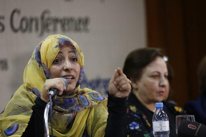 Tawakkol Karman. Foto Nashirul Islam, CC BY-SA 4.0, https://commons.wikimedia.org/w/index.php?curid=71549338