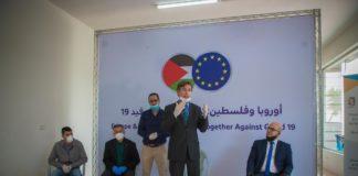 Sven Kühn von Burgsdorff, der Leiter der Ständigen Vertretung der EU in den Palästinensischen Autonomiegebieten. Foto European Union and the Palestinians / Facebook