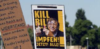 Unter dem Motto Querdenken fand am 16. Mai 2020 in Bad Cannstatt eine Demonstration und Kundgebung mit 5.000 Teilnehmern statt. Foto imago images / Ralph Peters