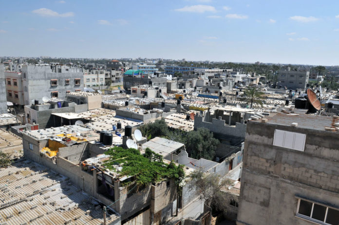 Khan Younis. Foto UNRWA / Tamer Hamam