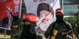 Mitglieder der Volksfront für die Befreiung Palästinas (PFLP) am 08. Mai 2020 in Gaza-Stadt. Foto imago images / ZUMA Wire