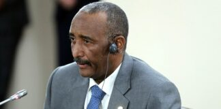 Abdel Fattah Abdelrahman Burhan, Vorsitzender des Souveränen Rates Sudan. Foto Kremlin.ru, CC BY 4.0, https://commons.wikimedia.org/w/index.php?curid=83320603