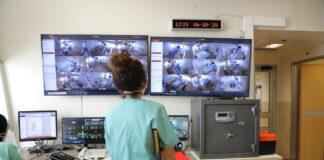 Coronavirus-Intensivstation im Ichilov-Krankenhaus (Tel Aviv Sourasky Medical Center) während der zweiten Welle der Covid-19-Pandemie. Tel Aviv, 4. Oktober 2020. Foto Eitan Elhadez-Barak/TPS