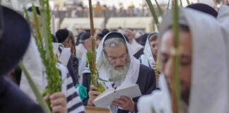 Sukkot in Jerusalem am 15. Oktober 2019. Foto Hillel Maeir/TPS
