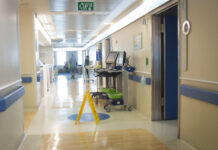 Hadassah Ein Kerem Krankenhaus, Jerusalem. Foto Hillel Maeir/TPS