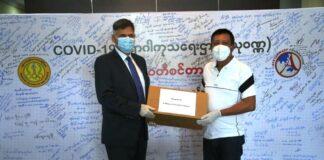 Israel unterstützt Myanmar im Kampf gegen COVID-19. Foto Israelische Botschaft in Myanmar.