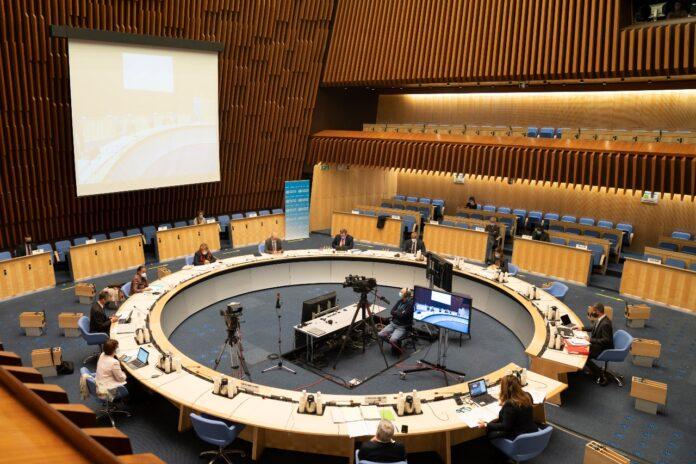 Die 73. WHO-Versammlung. Foto WHO