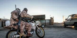 Spezialeinheit des Korps der Islamischen Revolutionsgarden (IRGC). Foto Tasnim News Agency, CC-BY 4.0, https://commons.wikimedia.org/w/index.php?curid=59571843
