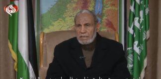 Mahmoud Al-Zahar. Foto Screenshot Youtube / رادیو پیام اسرائیل