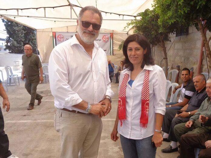 Der SP Ständerat Carlo Sommaruga (SP Genf), setzte sich 2014 für die Freilassung von Khalida Jarrar ein, eine Vertreterin der Terrororganisation PFLP. Foto Facebook-Konto Carlo Sommaruga, öffentlich zugänglich.