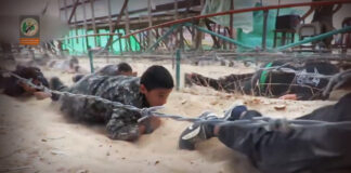 Hamas-Sommercamp. Foto Screenshot Youtube / Hamas