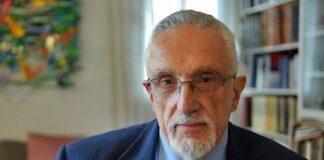 Manfred Gerstenfeld z״l Foto Screenshot Youtube
