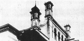 Alte Synagoge Magdeburg, Große Schulstraße 22 c. 1938 zerstört, 1939 abgebrochen. Foto circa 1900, Public Domain