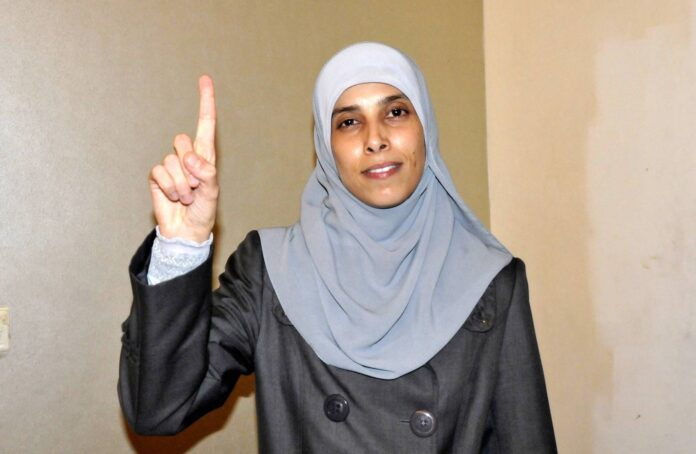 Ahlam Ahmad al-Tamimi. Foto IMAGO / ZUMA Wire
