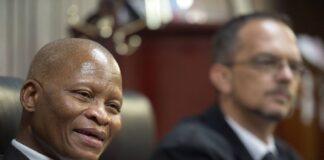 Südafrikas Oberster Richter Mogoeng Mogoeng. Foto IMAGO / Gallo Images