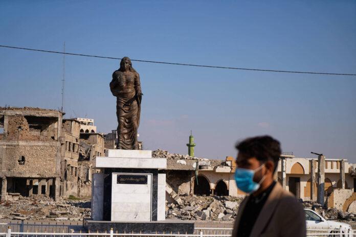 Mosul, Ninive, Irak am 22. Februar 2021. Foto IMAGO / ZUMA Wire