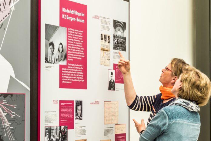 "Ausstellung ""Kinder im KZ Bergen-Belsen"". Foto Foto: Werner Musterer"