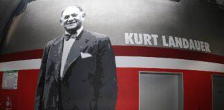 Kurt Landauer Bild, Allianz Arena Muenchen. Foto IMAGO / Philippe Ruiz