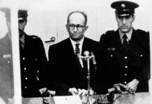 Adolf Eichmann vor Gericht. Foto IMAGO / United Archives International