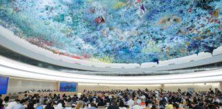 UN Menschenrechtsrat in Genf. Foto IMAGO / Xinhua