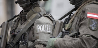 EKO COBRA: Spezialeinheit der Polizei in Österreich. Foto IMAGO / photosteinmaurer.com
