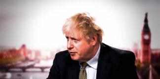 Screenshot von Boris Johnson, Premierminister des Vereinigten Königreichs. Foto IMAGO / Hans Lucas