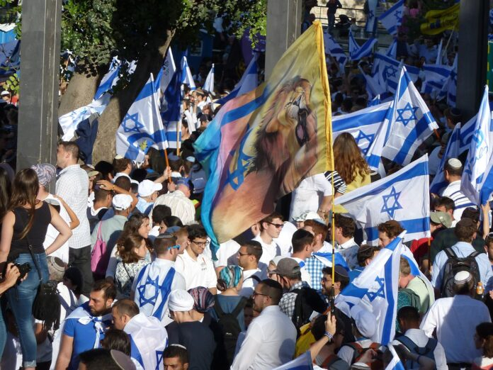 Jerusalemtag 2017. Foto Djampa, CC BY-SA 4.0, https://commons.wikimedia.org/w/index.php?curid=79179451