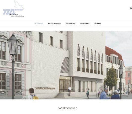 Foto Screenshot juden-in-brandenburg.de