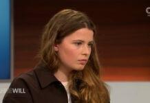 Ist Hans-Georg Maaßen ein Antisemit? (Armin Laschet & Luisa Neubauer bei Anne Will am 09.05.2021). Foto Screenshot Ihr Programm / ARD