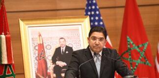 Marokkos Aussenminister Nasser Bourita. Foto IMAGO / Xinhua