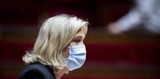 Marine Le Pen während einer Sitzung der Nationalversammlung in Paris. Foto IMAGO / PanoramiC