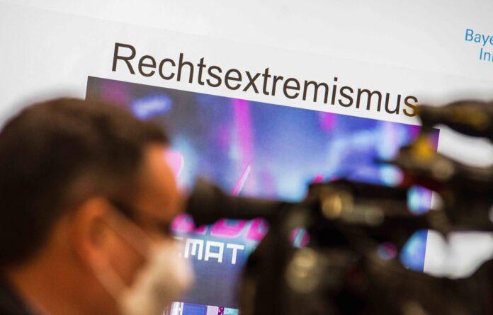 Symbolbild. Medienanlass Verfassungsschutz Bayern. Foto IMAGO / ZUMA Wire