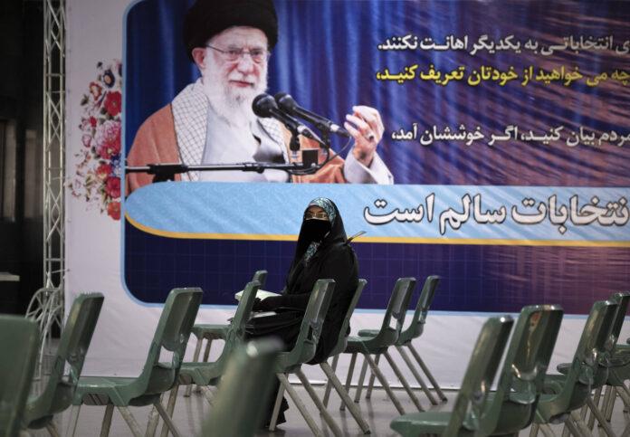 Porträt des Obersten Führer des Iran, Ayatollah Ali Khamenei im iranischen Innenministerium im Zentrum von Teheran am 11. Mai 2021. Foto IMAGO / NurPhoto