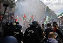 Massive Ausschreitungen in Neukölln bei einer pro-palästinensischen Demonstration. Berlin, 15.05.2021. Foto IMAGO / Future Image