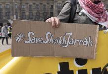 Pro-palästinensische Demonstration in Amsterdam am 16. Mai 2021. Foto IMAGO / Richard Wareham